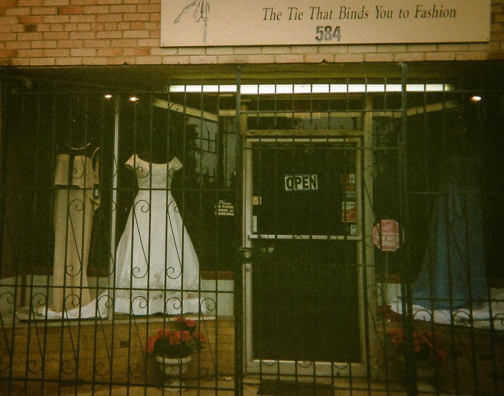 """Beautiful Dresses by Bobbie Nesbitt   """"I love that white dress. It reminded me of when my sister got married."""""""