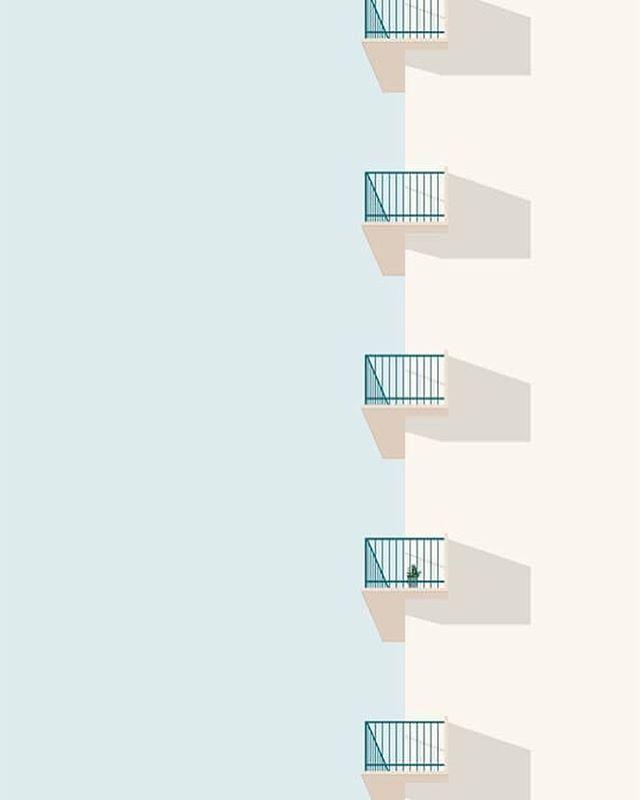 Lines so sharp they cut through the sky 📐 #GeometricArchitecture #EatAgency #EatAPhoto