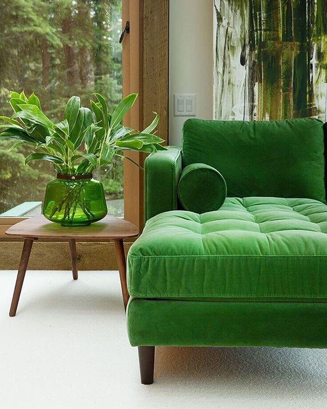 Green with envy for this home decor! 🍃 #EmeraldDreams #EatAgency #EatAPhoto
