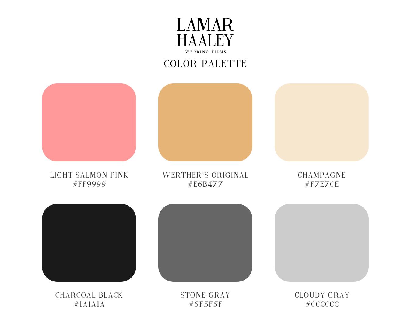 Lamar Haaley Wedding Films - Color Palette.jpg