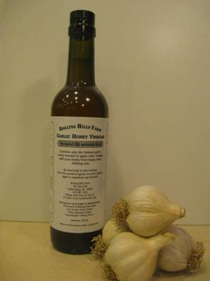 Garlic Honey Vinegar