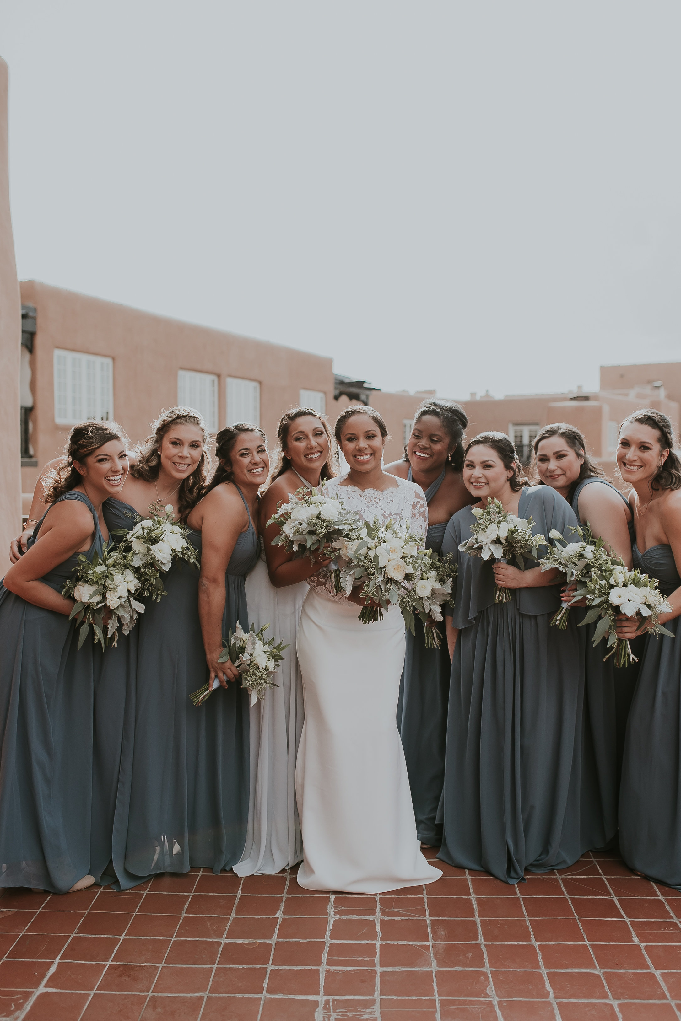 bridal party makeup in Santa Fe, NM