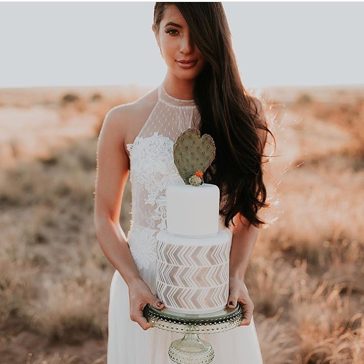 Fall wedding in New Mexico