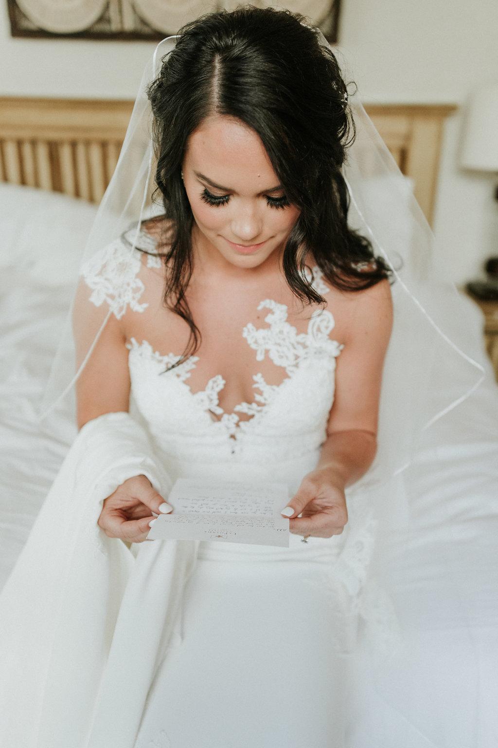 Natural glam wedding makeup