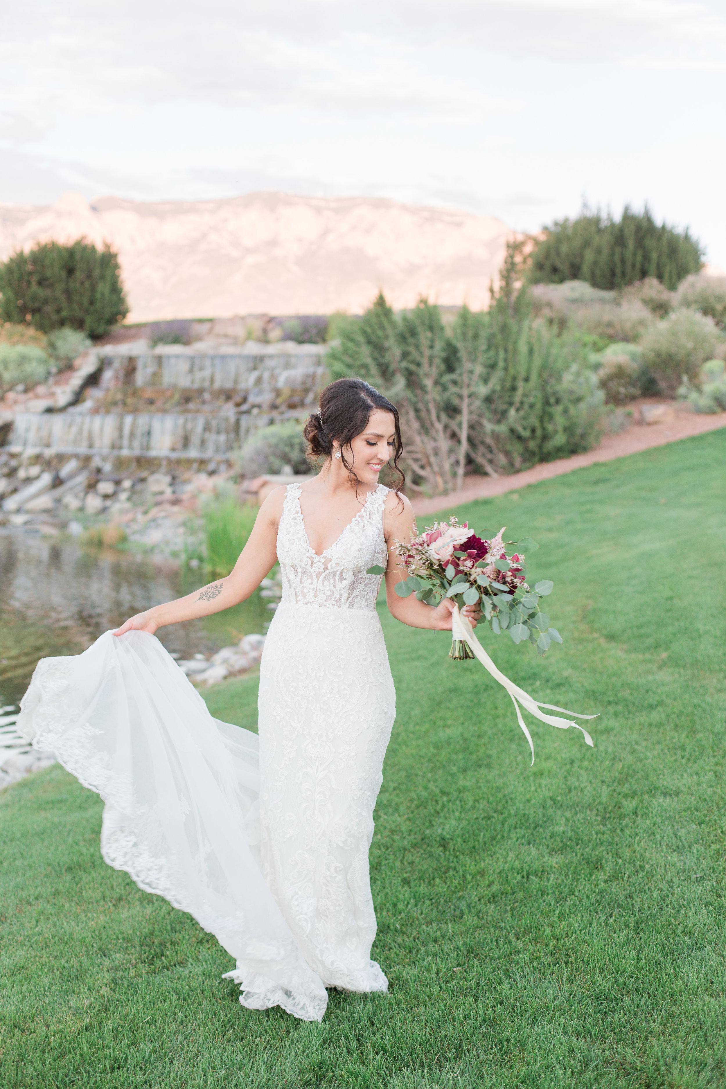 Albuquerque, New Mexico Bridal makeup