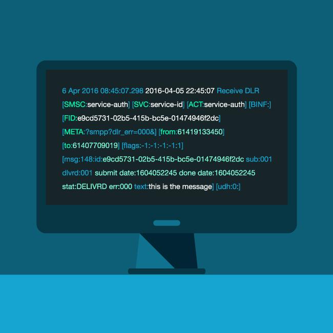 Sample DLR log file