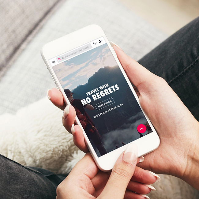 18 Landing page designs to optimise your mobile marketing