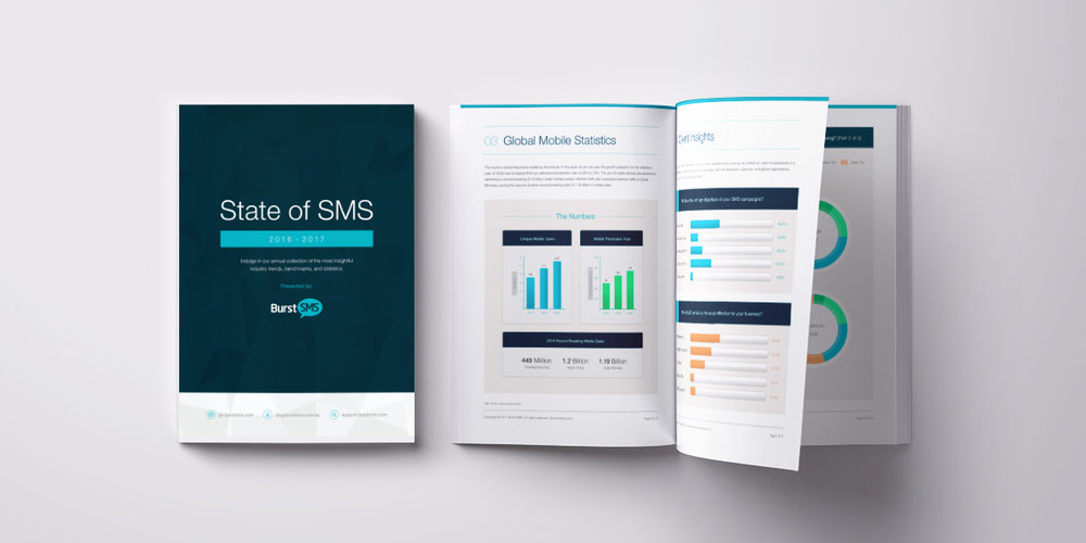 2016-17 State of SMS - Each year, technology becomes more integrated into our lives. This is especially true for mobile devices. According to Nielsen, 53% of global consumers feel anxious when their mobile device isn't nearby.