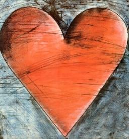 Artist Jim Dine - Philadelphia Heart
