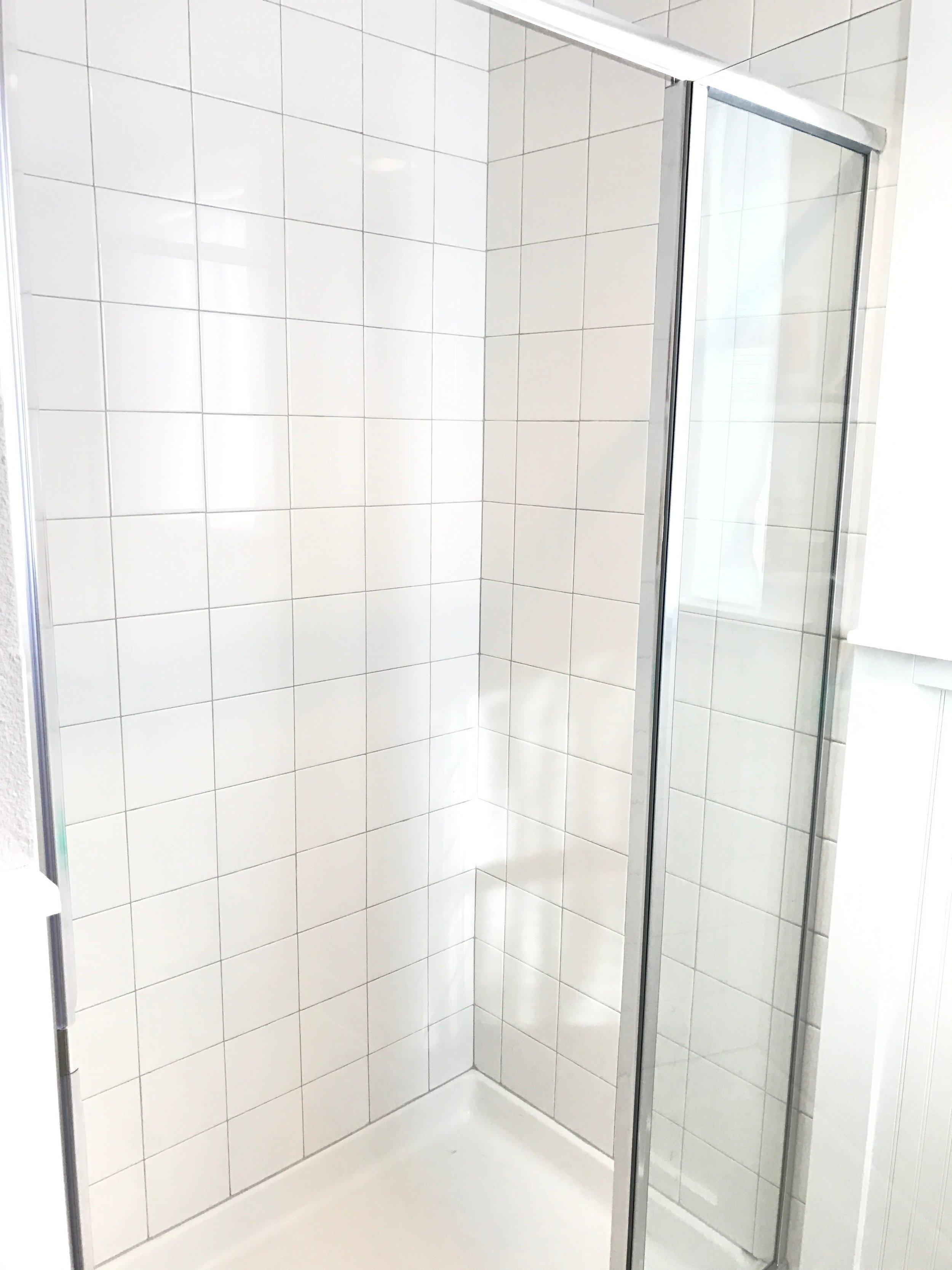 After shower