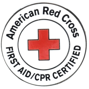 Instructors are First Aid/CPR/AED Certified by the American Red Cross