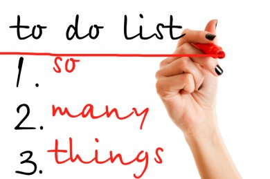 image source: The Study Gurus: To Do List So Many Things