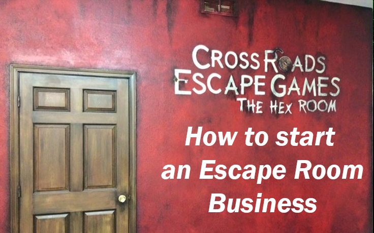 Transcript of How to Start an Escape Room Business seminar presented by Cross Roads Escape Games at the Midsummer Scream 2017 festival.