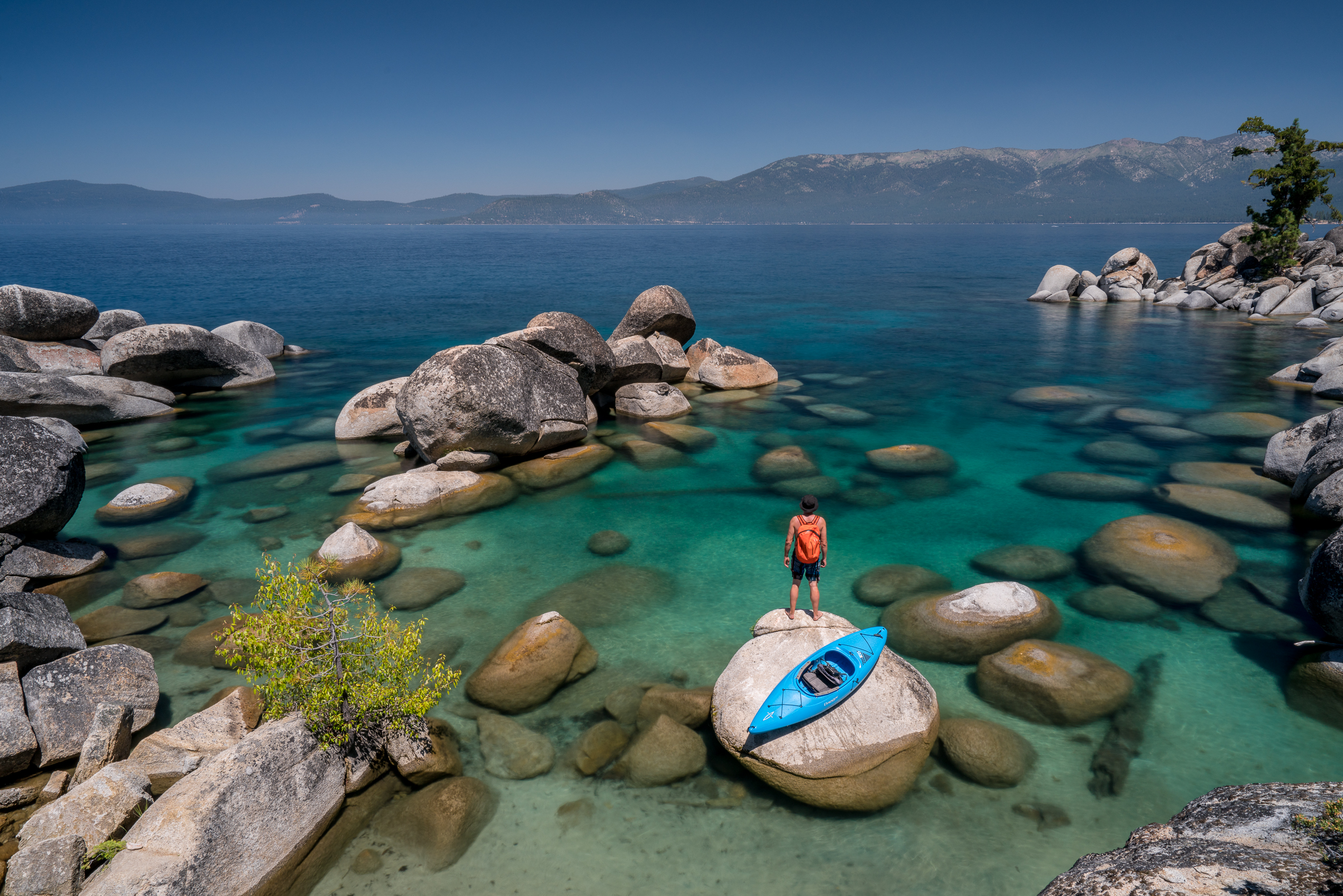Turquoise Coves of the East Side, Lake Tahoe