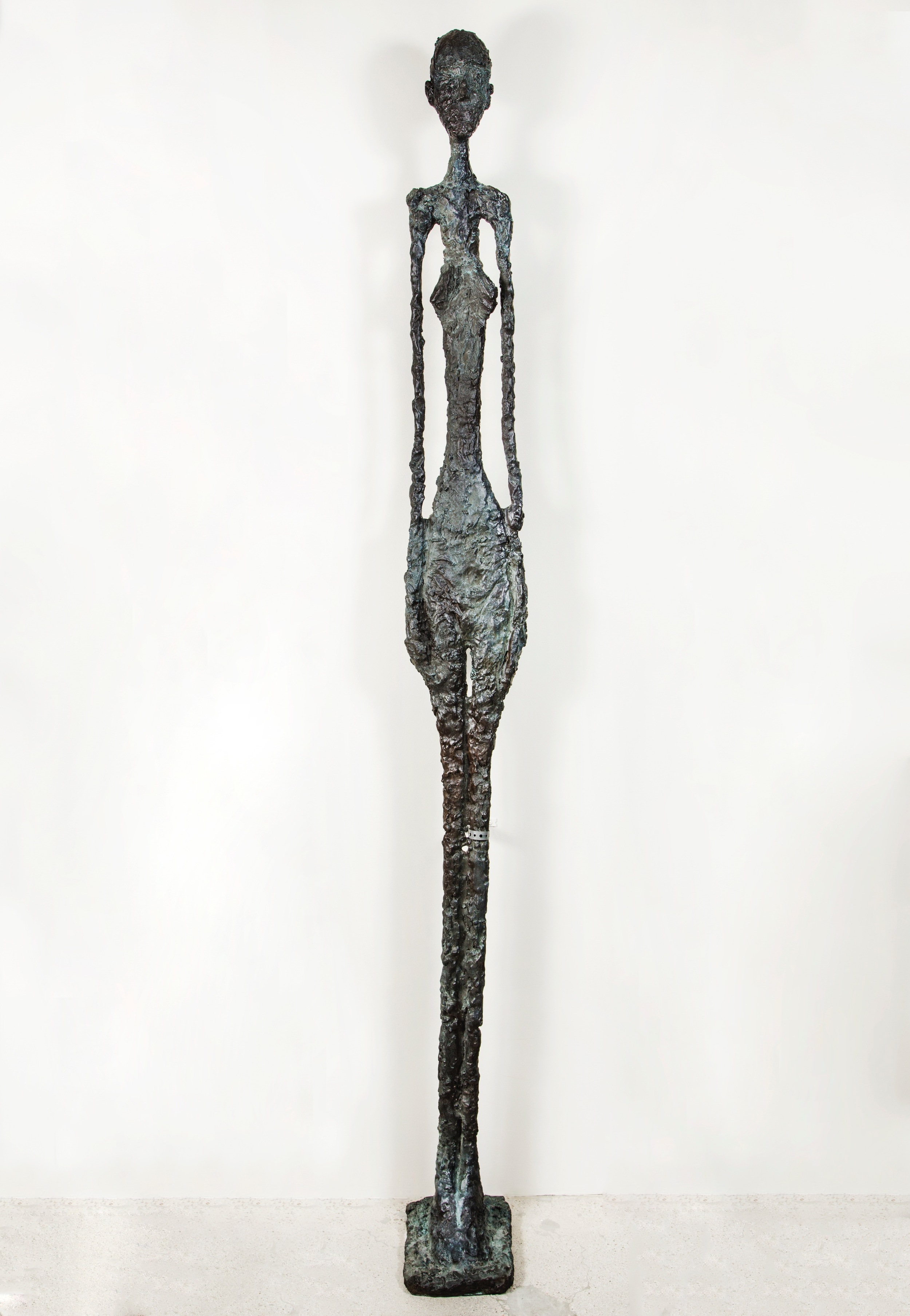 """NORTIA"" sculpted by Elizabeth Ortiz  created for the ""HOMAGE À GIACOMETTI SERIES""."