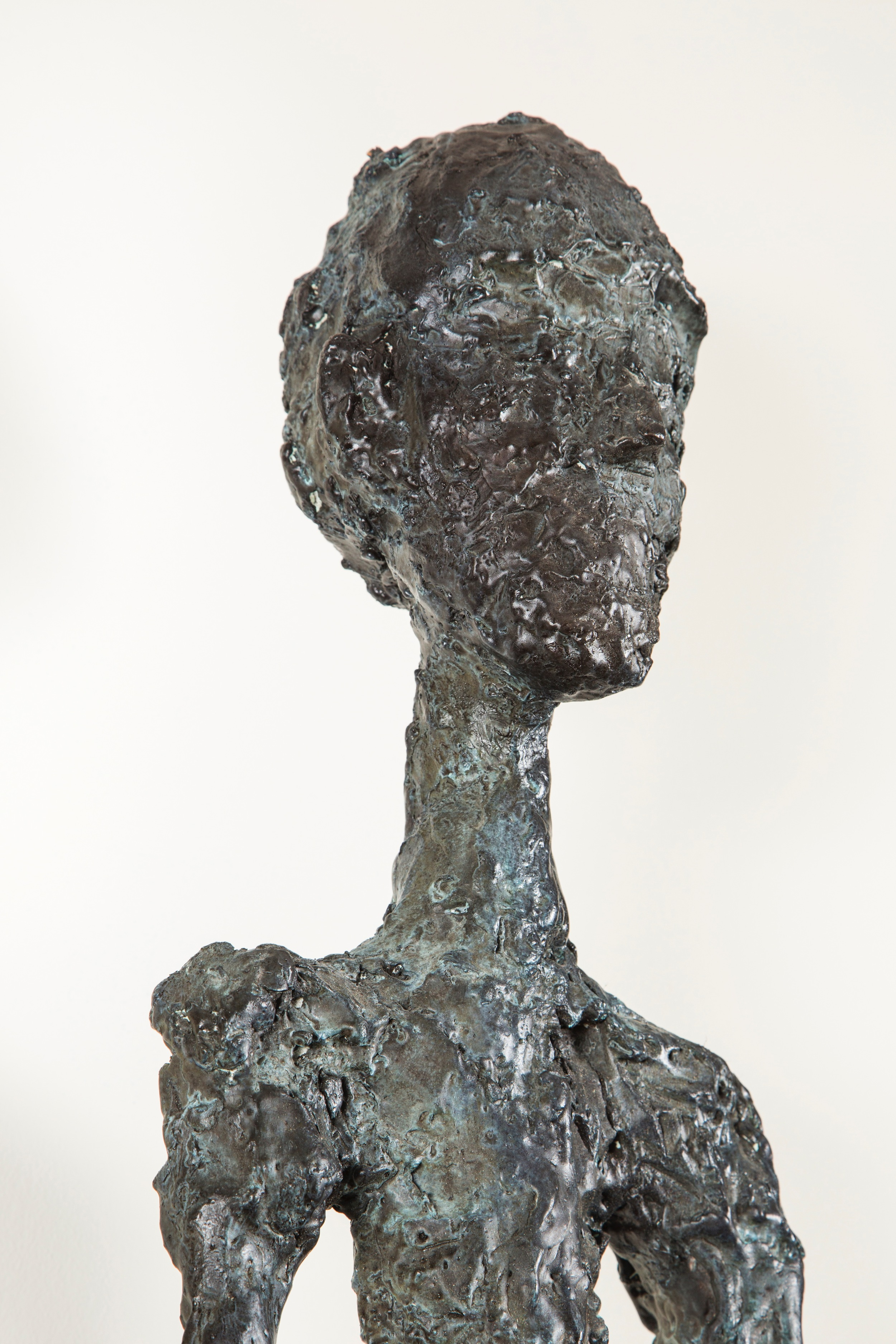 "Created for the ""HOMAGE À GIACOMETTI SERIES""."