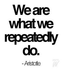 Aristotle's famous quote with a huge relevance to work related injuries.