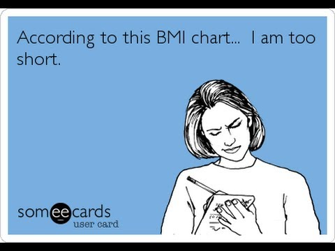 BMI charts aren't always accurate