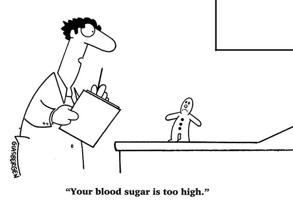 Doctor pun about blood sugar