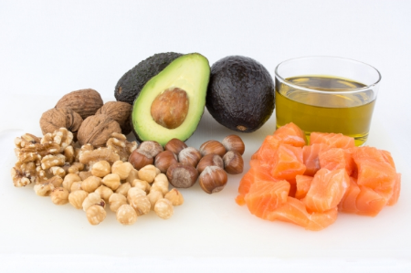 Image of some healthy fats