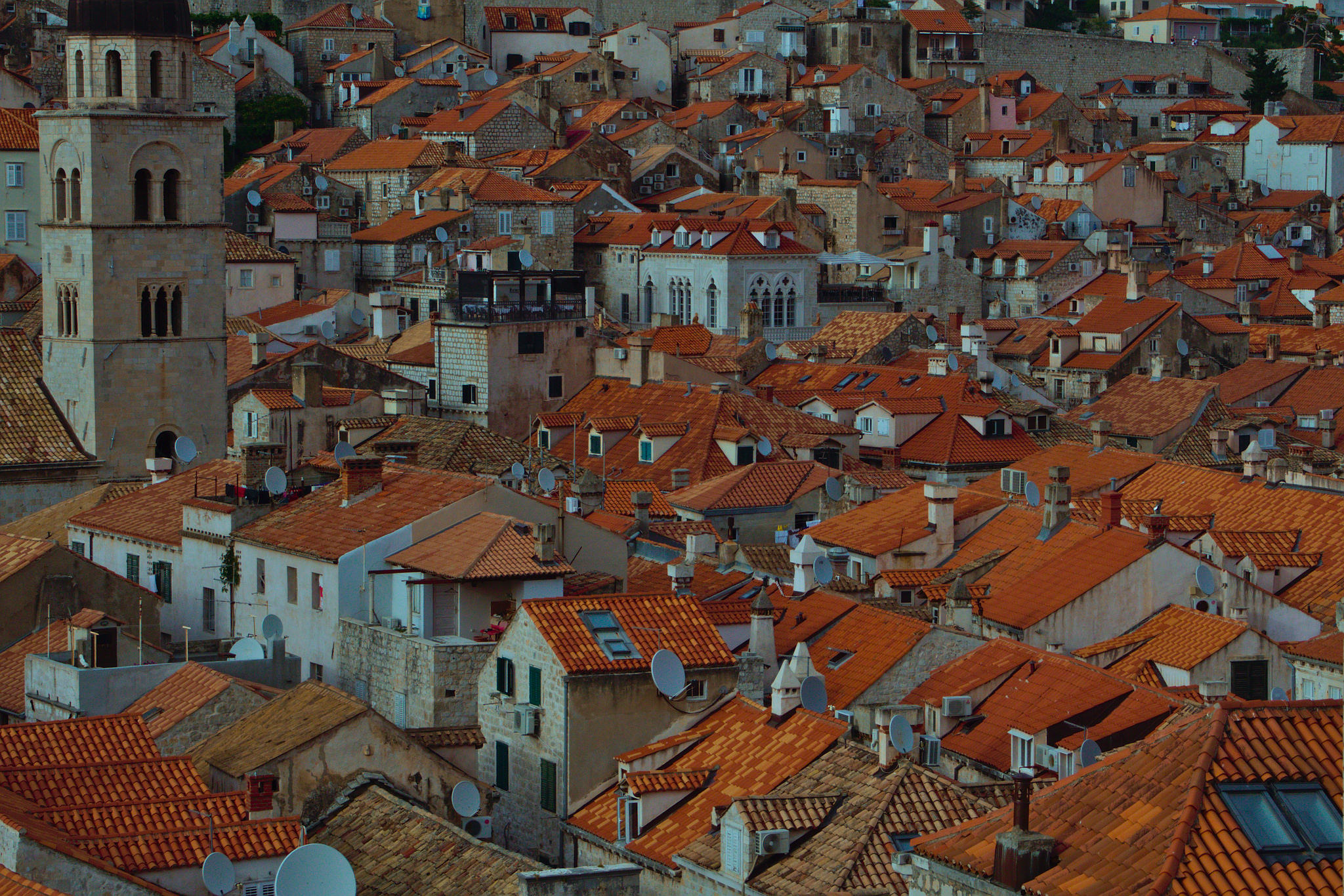 Old Town Roofs