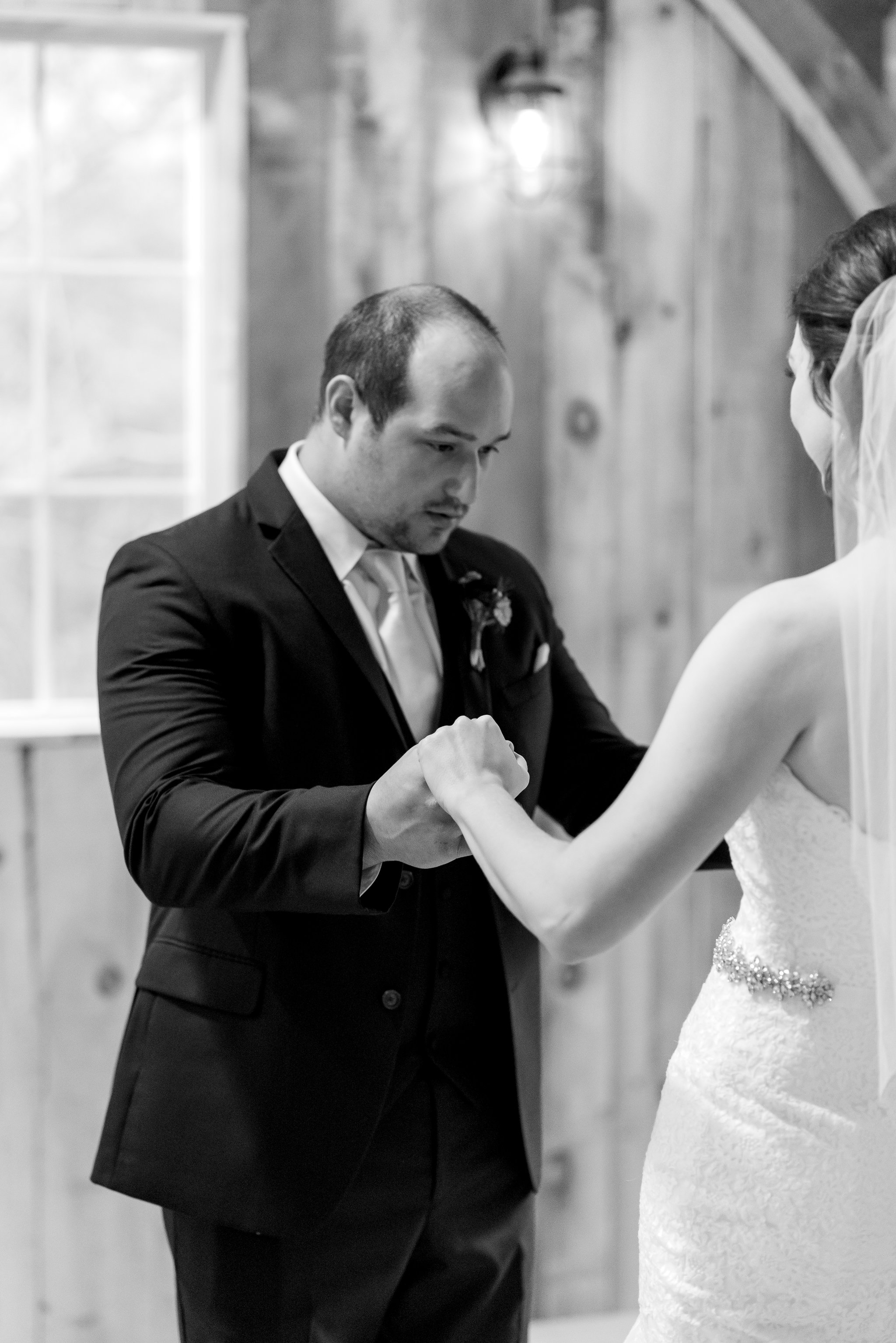 Ashley & Brandon Bayer - Don't worry Brandon, we thought the same thing when we saw her ...STUNNING!Photo: Alex Good Photography