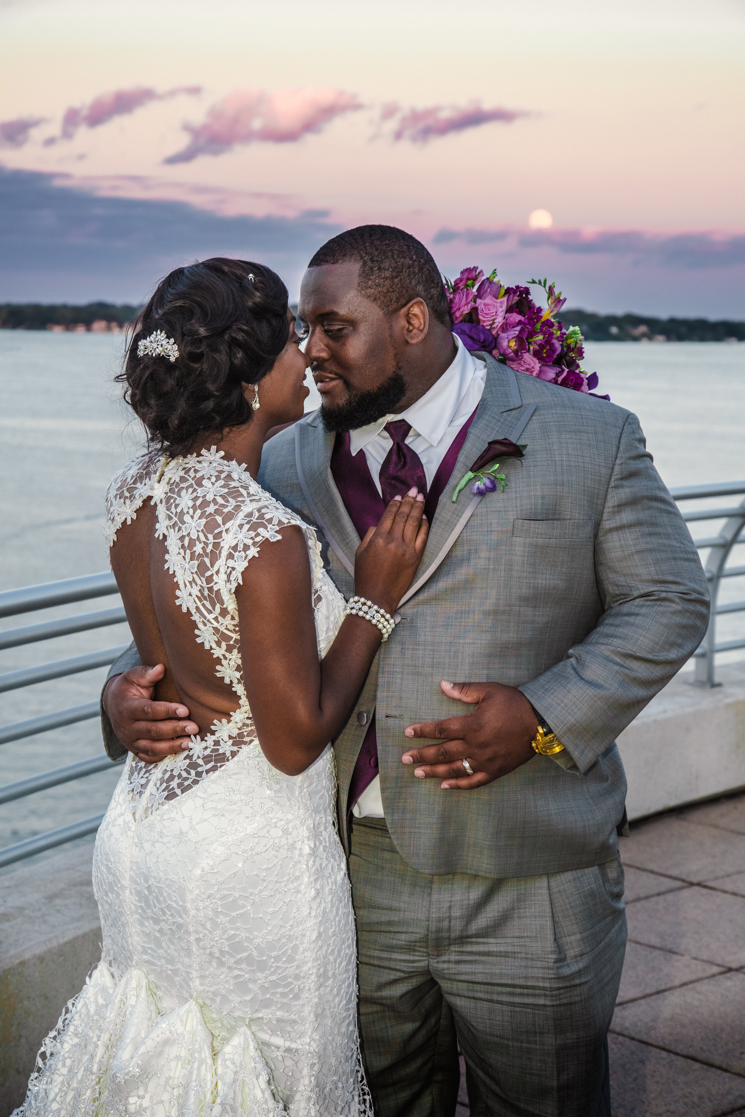 Rosa &Alex - The educators who insisted on making their school a big part of their photos.Photo: Sarah Jane Ripp Photography