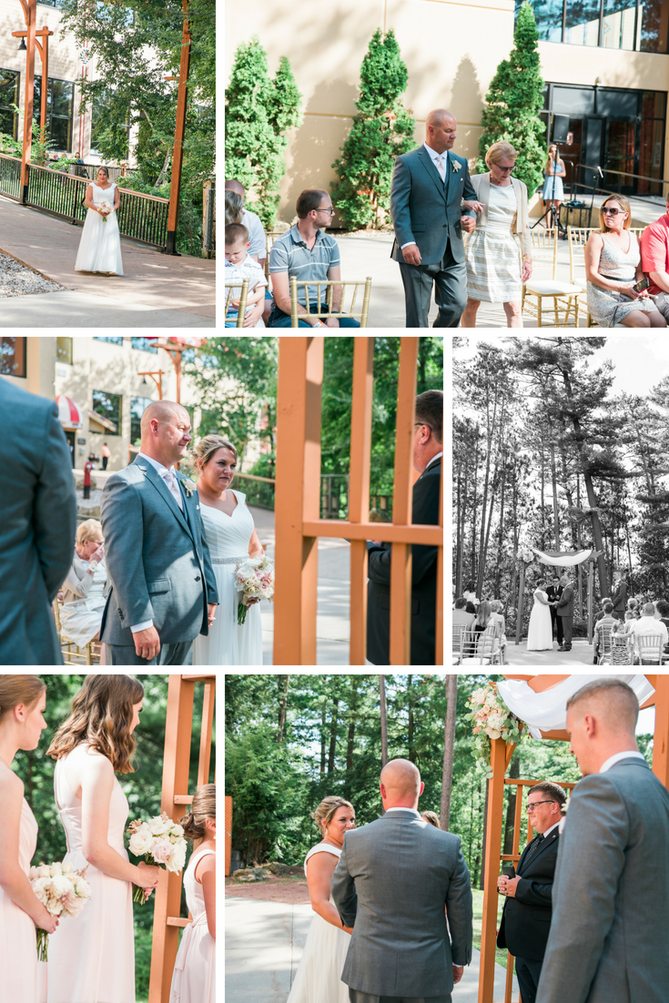Chula Vista resort intimate weddingwisconsin dells wedding planner