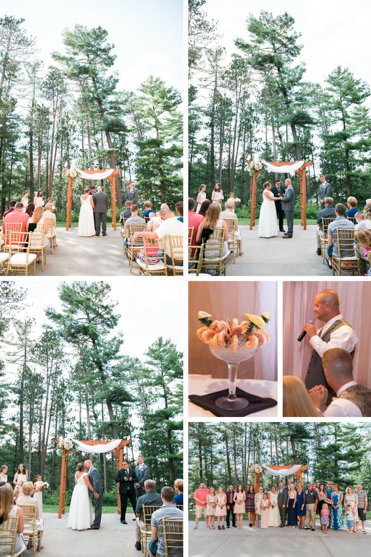 wisconsin dells wedding planner, wisconsin dells wedding intimate wedding wisconsin dells