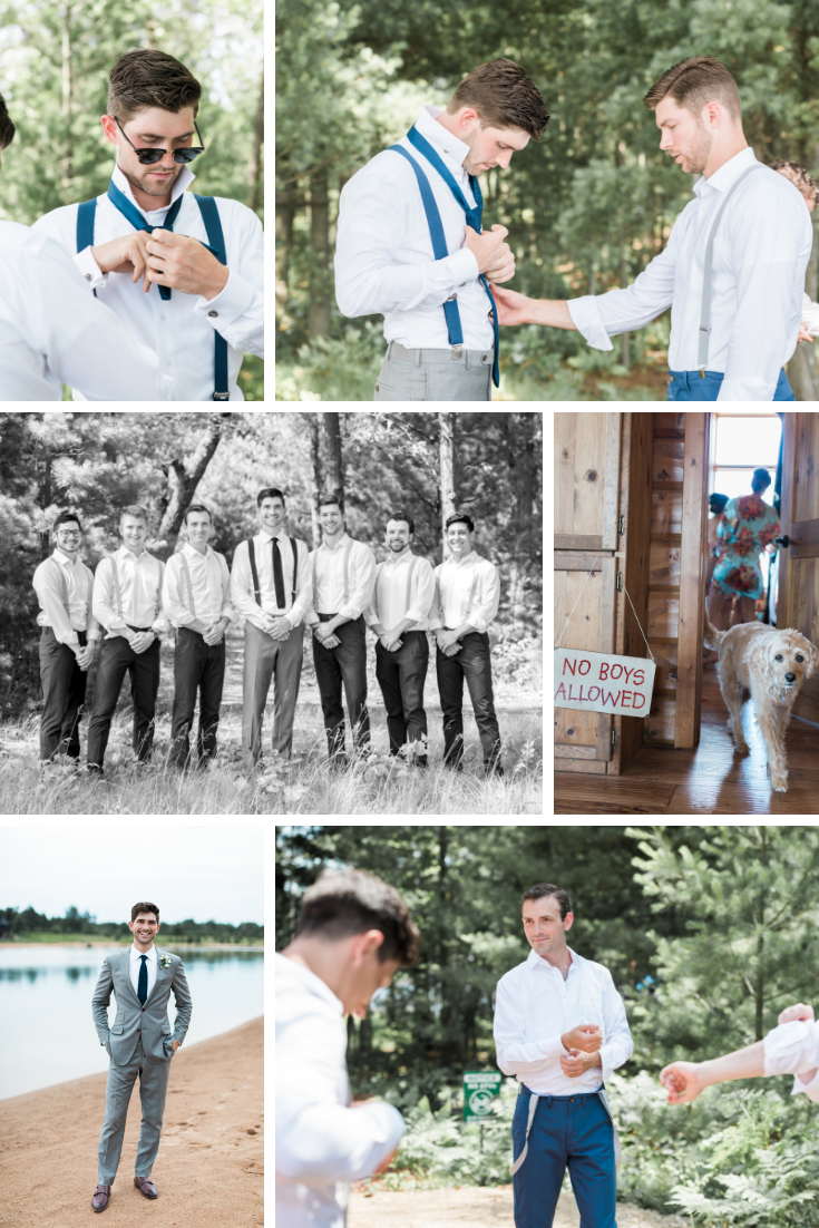 Wisconsin Dells lakehouse Wisconsin wedding planner