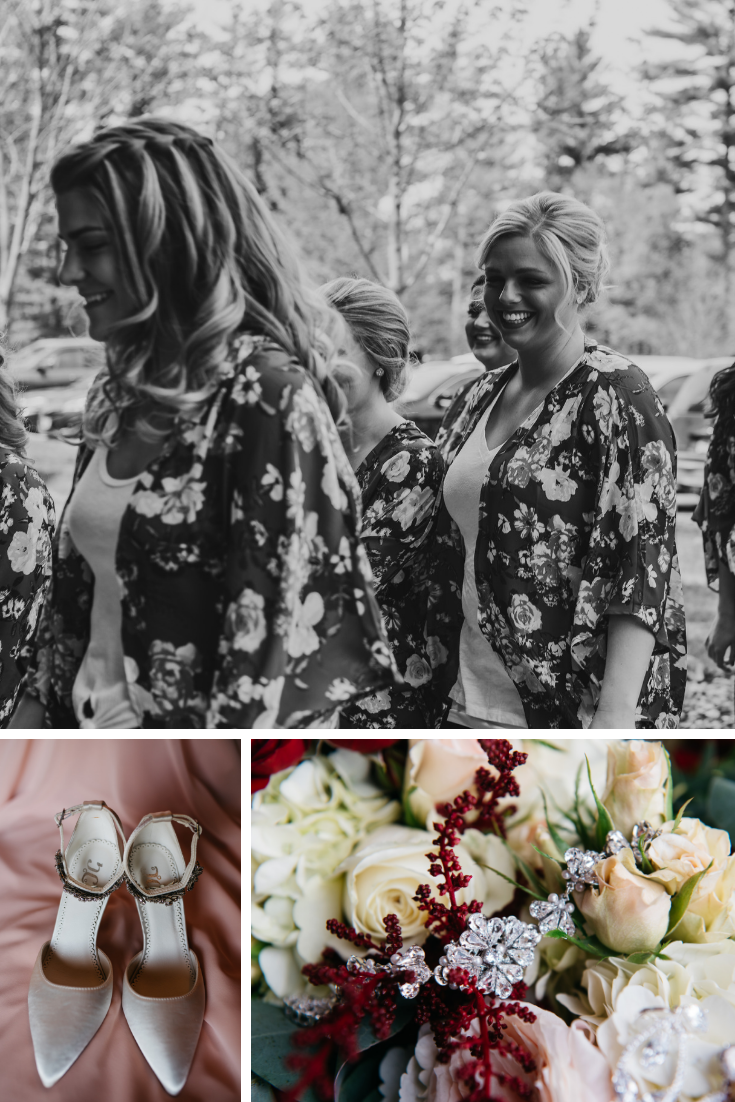 Neira Event Group Wedding Party Bridesmaids Wisconsin Dells
