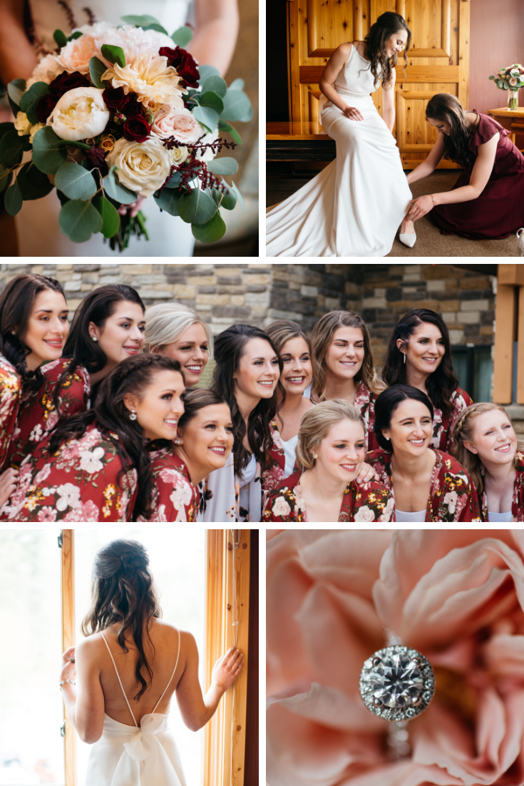 Neira Event Group Bridal Party Flowers Bouquet Bridesmaids