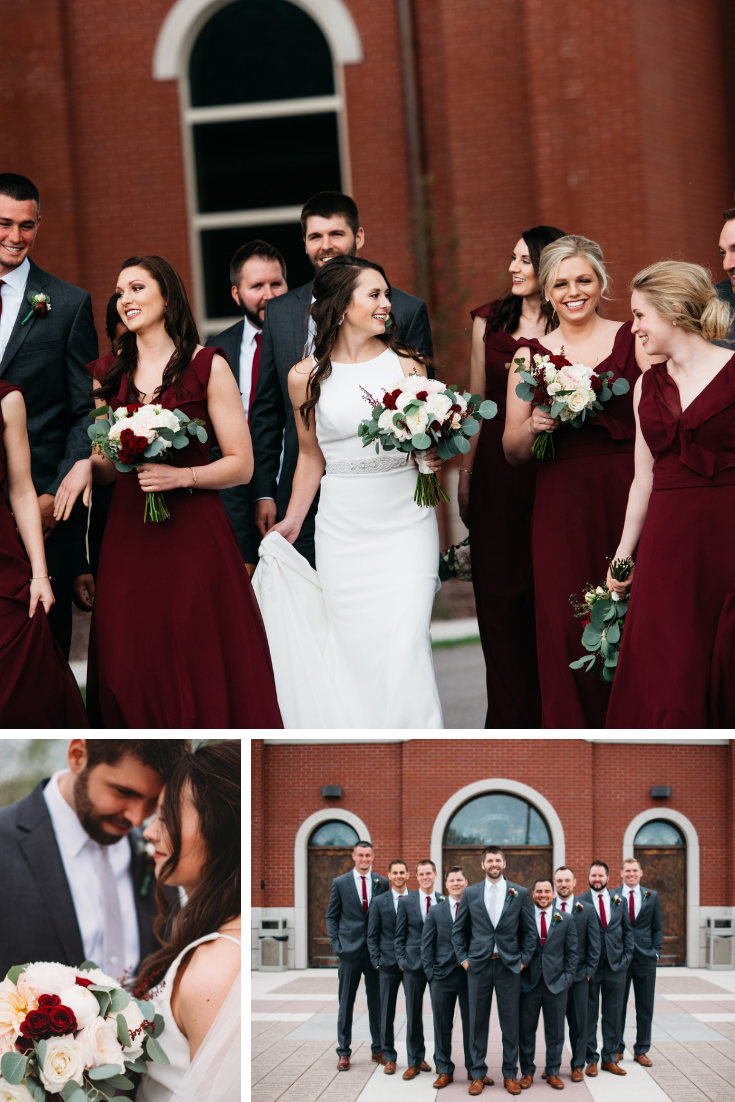 Wedding Party Tara Draper Photography Neira Event Group Love