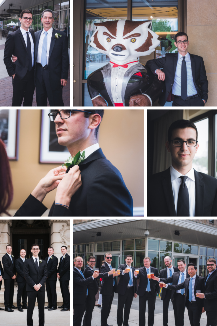 Neira Event Group Groomsmen Wisconsin Dells Madison Wisconsin