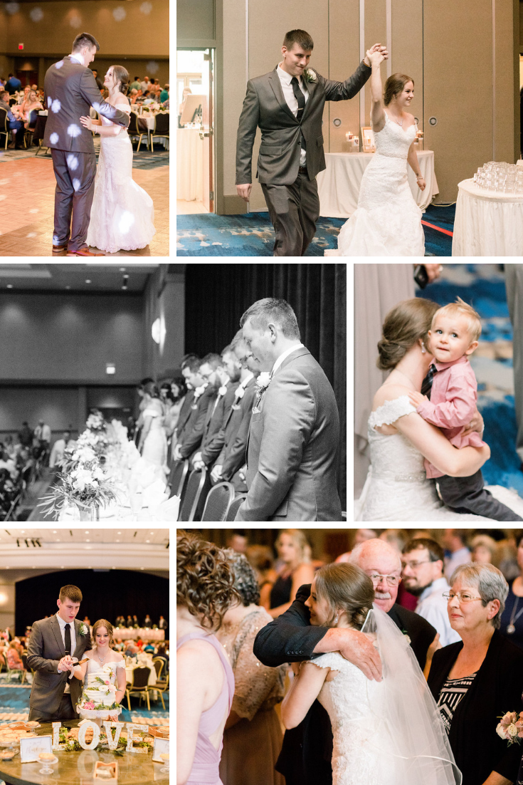 Neira Event Group Radisson Hotel & Conference Center Green Bay, WI Wedding First Dance