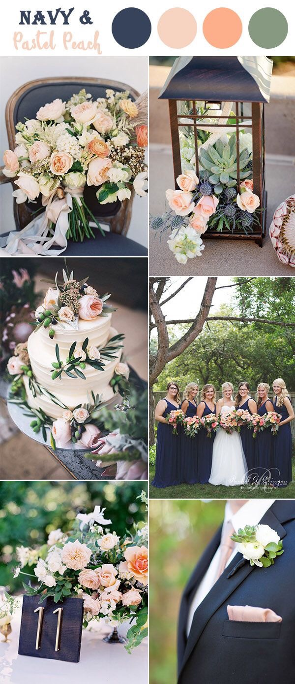 Neira Event Group Wisconsin Wedding Planner Navy and Pastel Peach Wisconsin Wedding Colors Wisconsin Spring Wedding Wisconsin Outside Wedding Wisconsin Bride Wisconsin Wedding