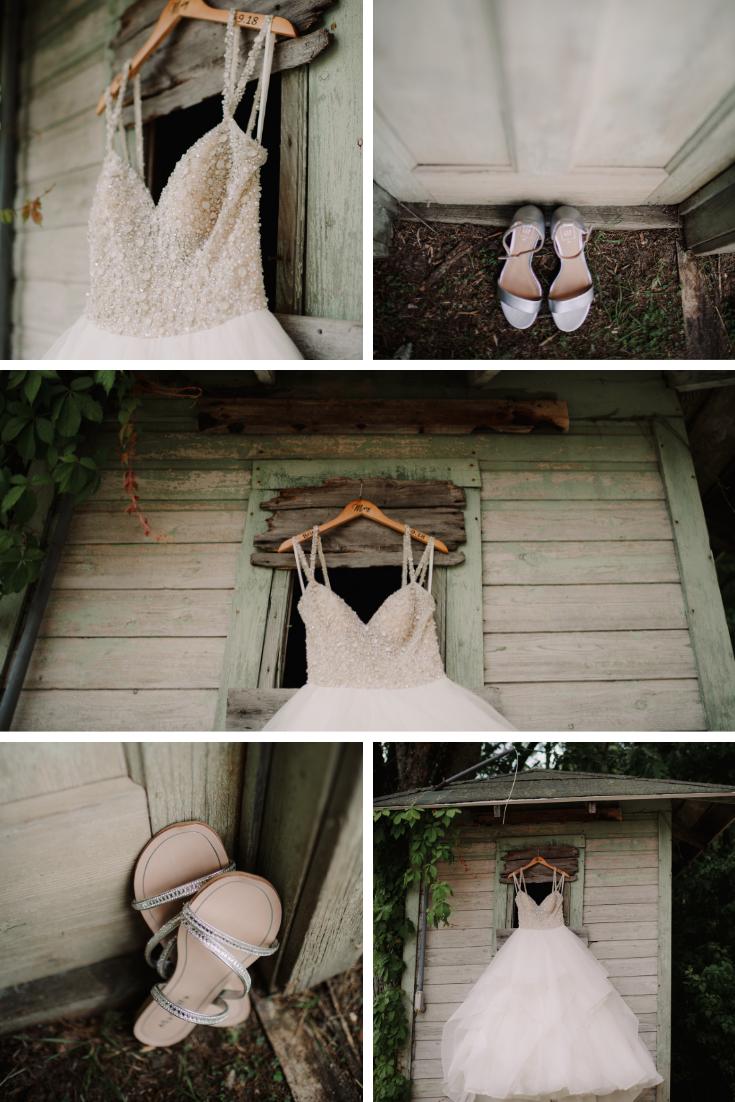 wedding dress photos wisconsin dells