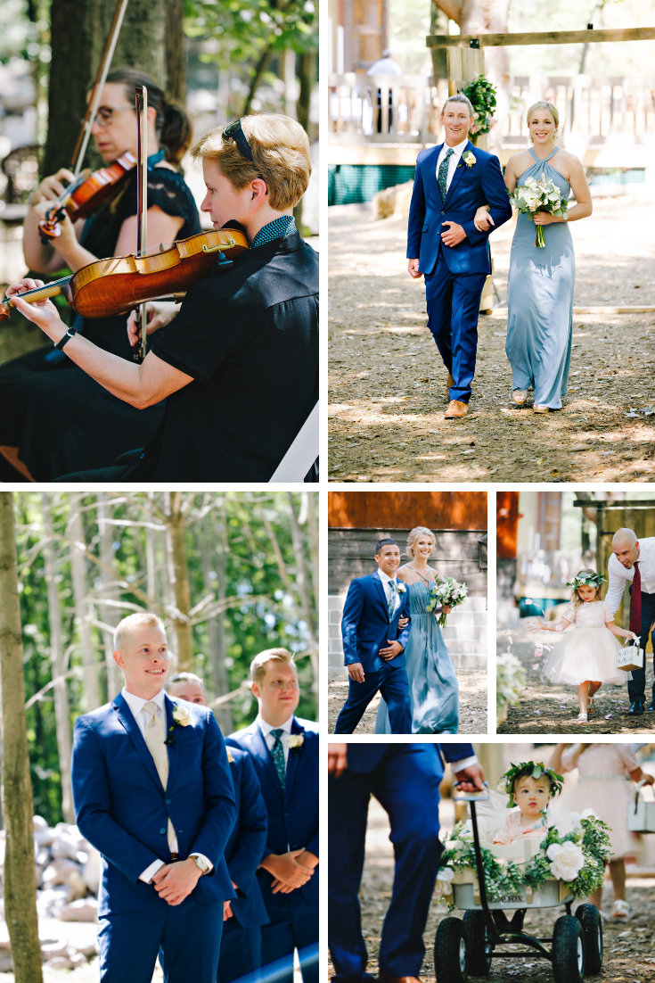 Wisconsin Dells Outdoor Wedding