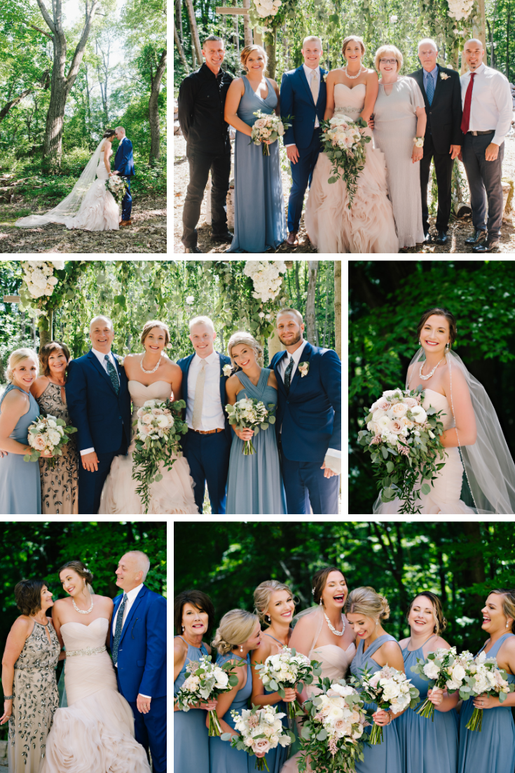 Kara Kamienski Photography Wisconsin Dells Wedding