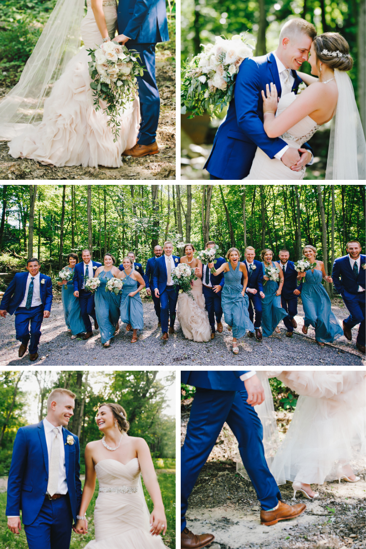 Wisconsin Dells Summer Wedding