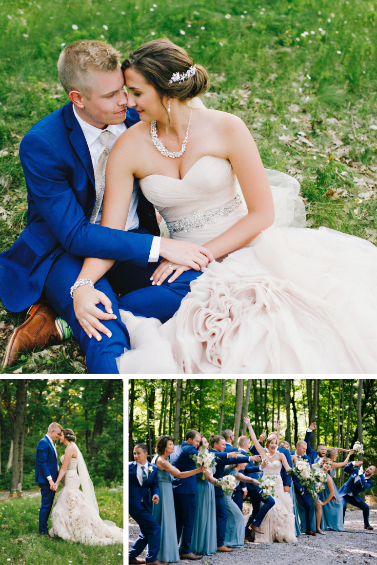Kara Kamienski Photography Wisconsin Dells Summer Wedding