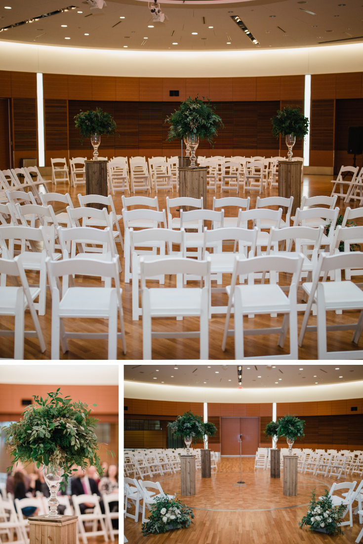 Madison wedding at the Discovery Building