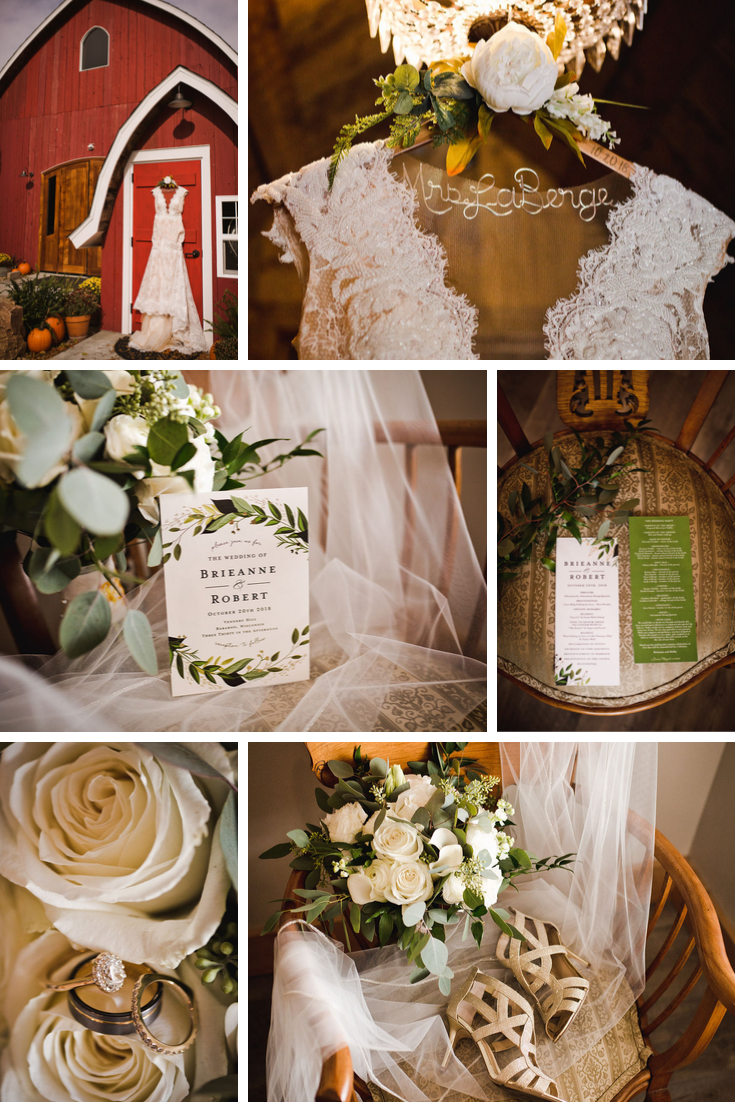 Wisconsin Dells Barn Wedding details