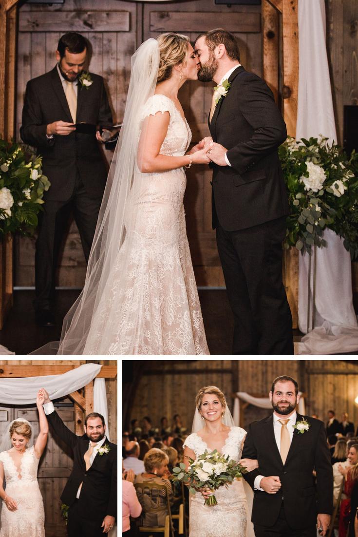 Wisconsin Dells Wedding Vennebu Hill Barn wedding