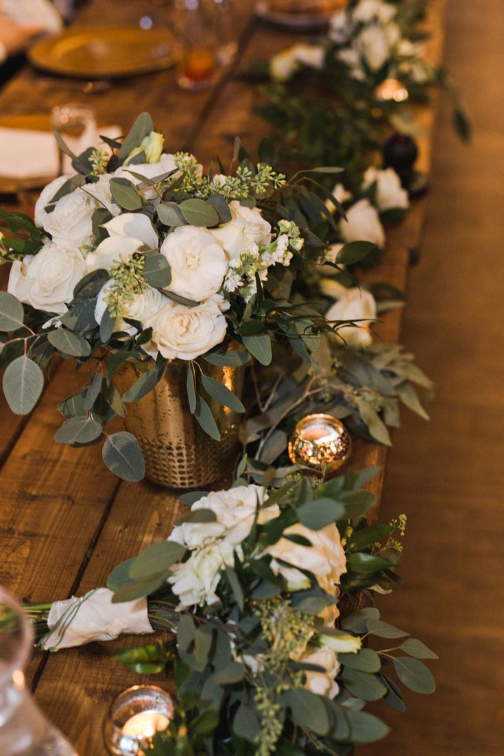 Wisconsin Dells Wedding reception details Neira Event Group