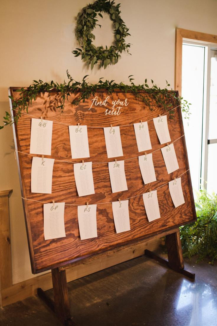 Neira Event Group reception details Wisconsin Dells Wedding