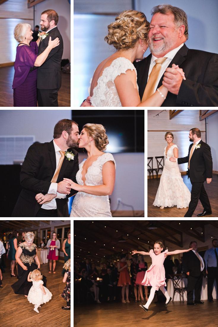 First dance Wisconsin Dells Wedding