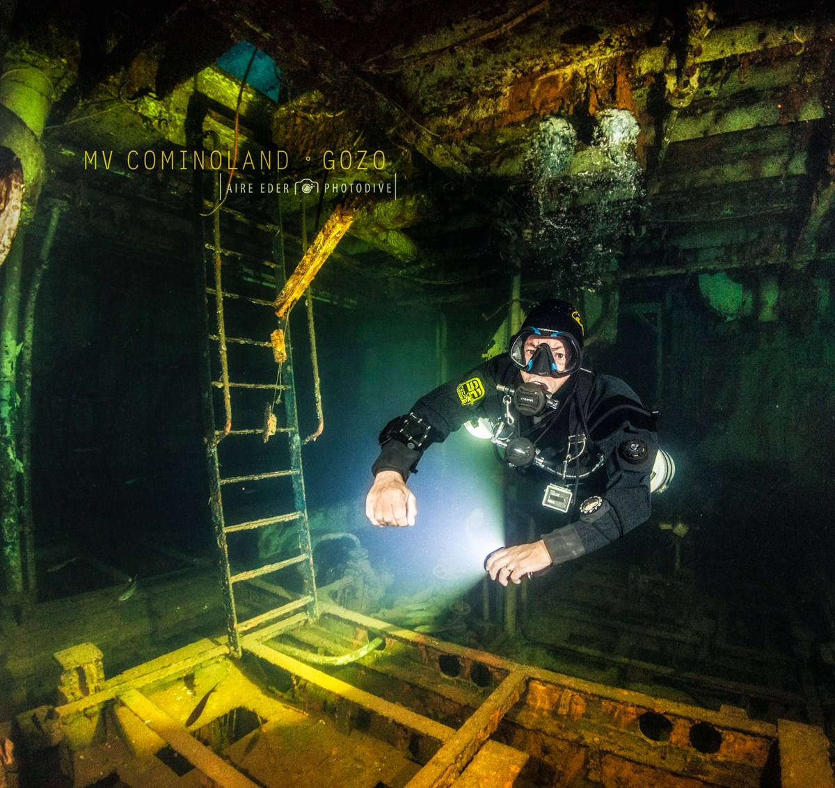Wreck Diving in Gozo - Photo Credit Aire Eder