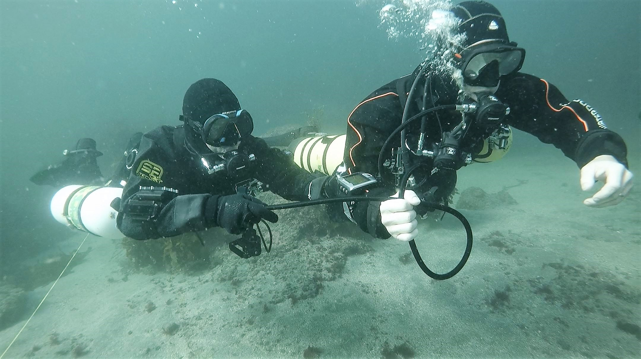 Sidemount Diver Training - Out of Gas (Overhead)