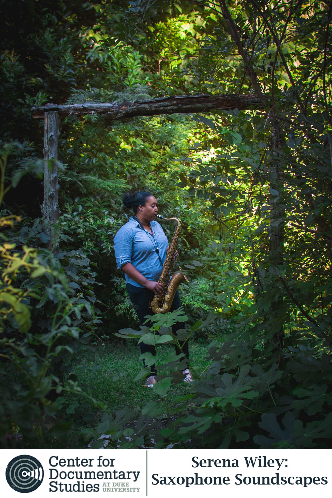 A passing train whistles, a car turn signal ticks, birds sing in the distance—North Carolina-based saxophonist, Serena Wiley, invites you to engage with the sounds that inspire her.    Listen to the story here:  https://soundcloud.com/cds-audio/saxophone-soundscapes